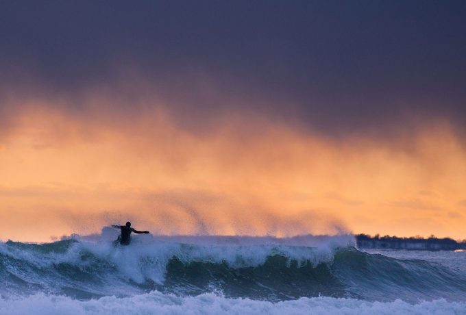 surfing en maine