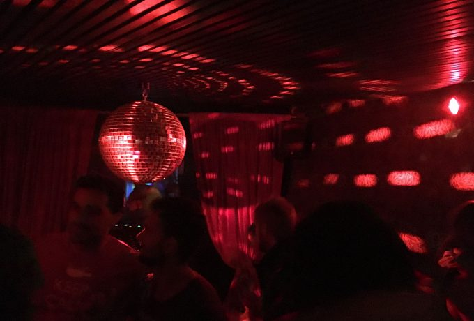 The club's disco ball.
